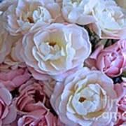 Roses On The Veranda Poster by Carol Groenen