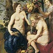 Rubens, Peter Paul 1577-1640. Ceres Poster by Everett
