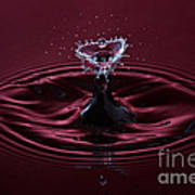 Rubies And Diamonds Poster by Susan Candelario