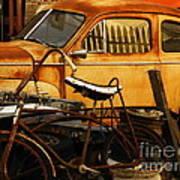 Rust Race Poster by Joe Jake Pratt