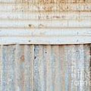 Rusted Metal Background Poster by Tim Hester