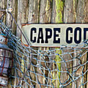Rustic Cape Cod Poster by Bill Wakeley