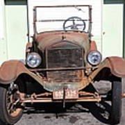 Rusty Old Ford Jalopy 5d24642 Poster by Wingsdomain Art and Photography