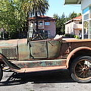 Rusty Old Ford Jalopy 5d24649 Poster by Wingsdomain Art and Photography