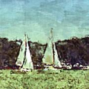 Sail Away Poster by Susan Leggett