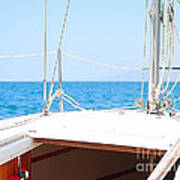 Sailing On A Fine Sunny Day Poster by Artist and Photographer Laura Wrede