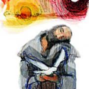 Saint Francis Poster by Daniel Bonnell