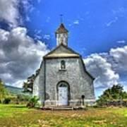 Saint Joeseph's Church Maui  Hawaii Poster by Puget  Exposure