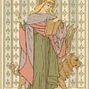 Saint Mark Poster by English School