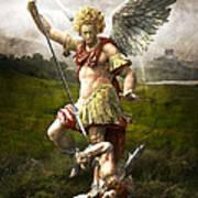 Saint Michael's Triumpf Poster by Marc Huebner