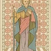 Saint Paul Poster by English School