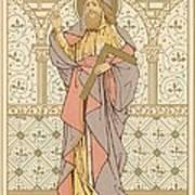 Saint Thomas Poster by English School