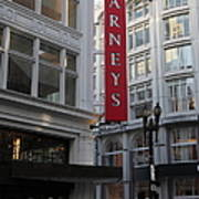 San Francisco Barneys Department Store - 5d20544 Poster by Wingsdomain Art and Photography