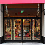 San Francisco Gumps Store Doors - 5d20588 Poster by Wingsdomain Art and Photography