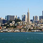 San Francisco Skyline Poster by Kelley King