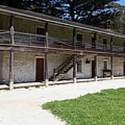 Sanchez Adobe Pacifica California 5d22643 Poster by Wingsdomain Art and Photography