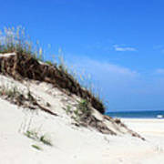 Sand Dunes Of Corolla Outer Banks Obx Poster by Design Turnpike