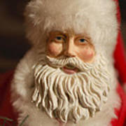 Santa Claus - Antique Ornament - 07 Poster by Jill Reger