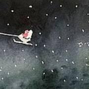 Santa Is Coming Poster by Yoshiko Mishina