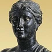 Sappho 612-545 Bc. Greek Art. Sculpture Poster by Everett