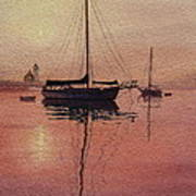 Scituate Serenity Poster by Karol Wyckoff