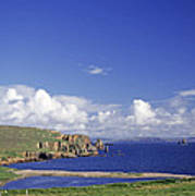 Scotland Shetland Islands Eshaness Cliffs Poster by Anonymous
