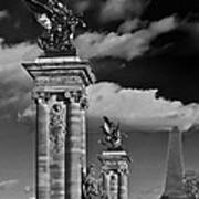 Sculptures Of Paris Poster by Mountain Dreams
