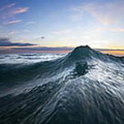 Sea Mountain Poster by Sean Davey