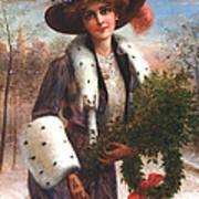 Seasons Greetings Poster by Emile Vernon