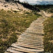 Secret Path Poster by Gerlinde Keating - Galleria GK Keating Associates Inc