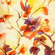 Shadow Leaves Poster by Summer Celeste