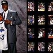 Shaquille O'neal Poster by Joe Hamilton