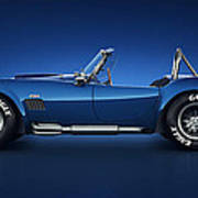 Shelby Cobra 427 - Water Snake Poster by Marc Orphanos