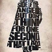 Sherlock - Benedict Cumberbatch Poster by Ayse Deniz
