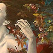 Shivers Poster by Dorina  Costras