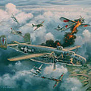 Shoot-out Over Saigon Poster by Randy Green