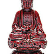 Sitting Buddha  Poster by Olivier Le Queinec