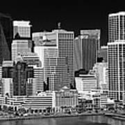 Skyline San Francisco Poster by Ralf Kaiser