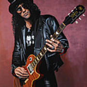 Slash Poster by Paul Meijering