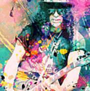 Slash Poster by Rosalina Atanasova