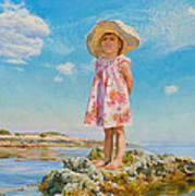 Small Island Poster by Victoria Kharchenko