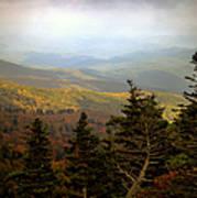 Smokey Mountain High Poster by Karen Wiles
