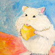 Snack Time Poster by Debi Starr