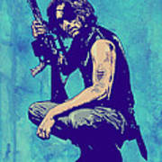 Snake Plissken Poster by Giuseppe Cristiano