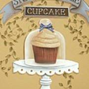 Snickerdoodle Cupcake Poster by Catherine Holman