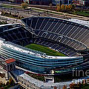 Soldier Field Chicago Sports 06 Poster by Thomas Woolworth