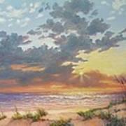 South Padre Island Splendor Poster by Carol Reynolds