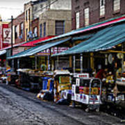 South Philly Italian Market Poster by Bill Cannon