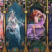 Sparkling Jewels Poster by Drazenka Kimpel