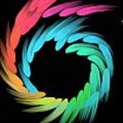Spiralbow Poster by Michael Jordan